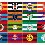 futbol takım bayrakları