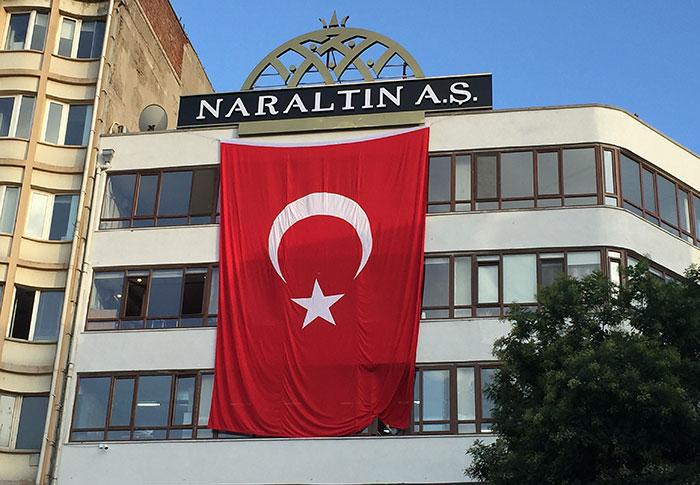 türk bayrak imalatı