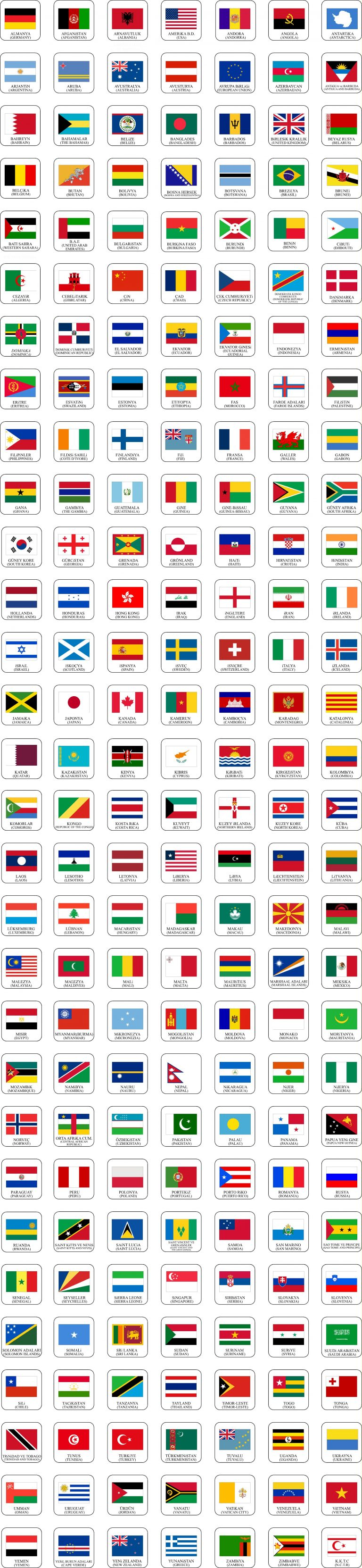 ülke bayrak imalatı